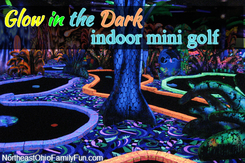 Glow-in-the-Dark Indoor Mini Golf