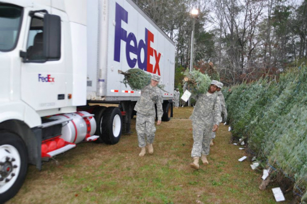 Trees for Troops Sugargrove Tree Farm