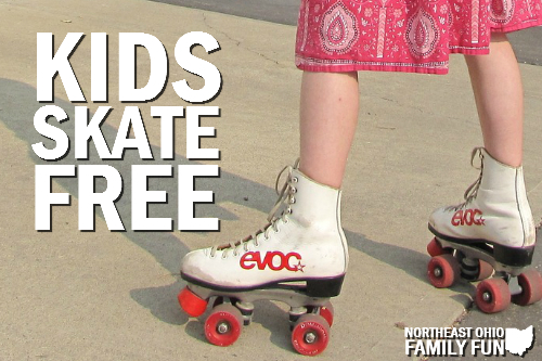 Kids Skate Free Locations in Northeast Ohio