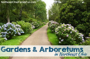 Outdoor Gardens and Arboretums in Northeast Ohio