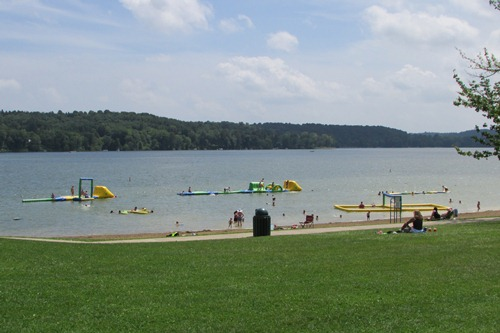 Atwood Lake Beach Mineral City Ohio