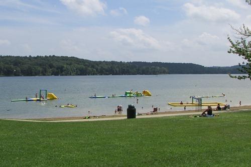 Atwood Lake Beach Mineral City Ohio