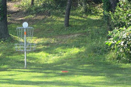 Frisbee Golf at Schneider Community Park Plain Township Ohio