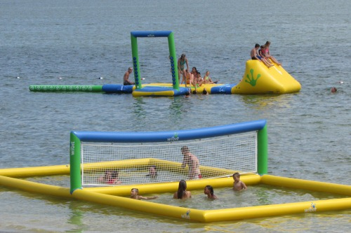 Fun at Atwood Lake Beach Mineral City Ohio