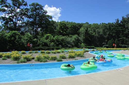 Lazy River at Water Works Aquatics Center