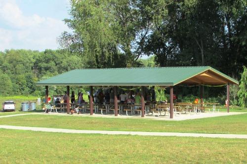 Picnic Shelter at Schneider Community Park Plain Township Ohio
