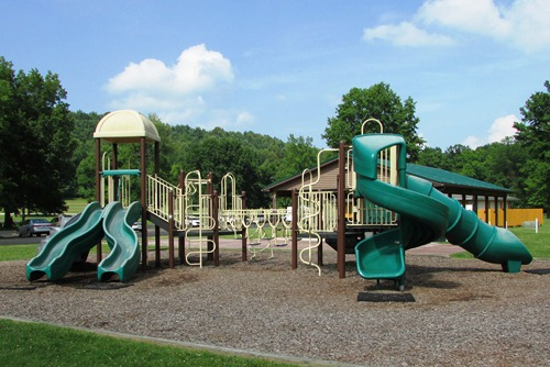 Playground at Atwood Lake Park Ohio