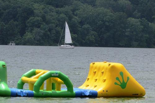 Sailboat at Atwood Lake Beach