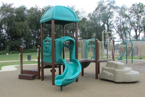 Toddler Playground at Schneider Community Park Plain Township Ohio