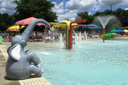 Shallow End at Water Works Water Park Ohio