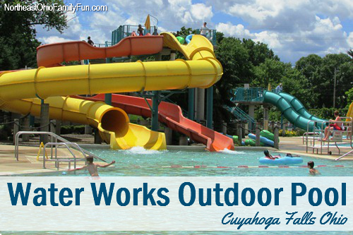 Water Works Aquatic Center: Outdoor Pool, Waterslides & Lazy River