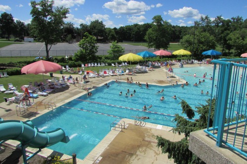Water Works Pool Cuyahoga Falls Ohio