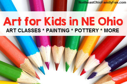 Art Classes for Kids in Northeast Ohio
