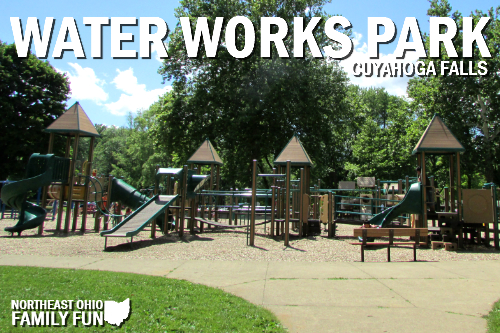 Water Works Park Playground in Cuyahoga Falls