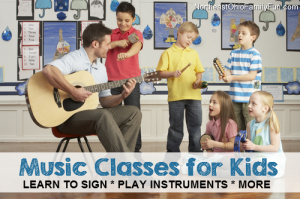 Music Classes for Kids in Northeast Ohio