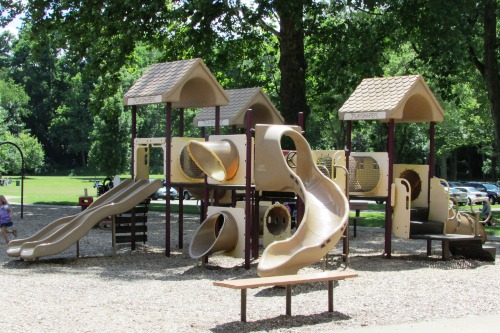 Toddler Playground at Water Works Park