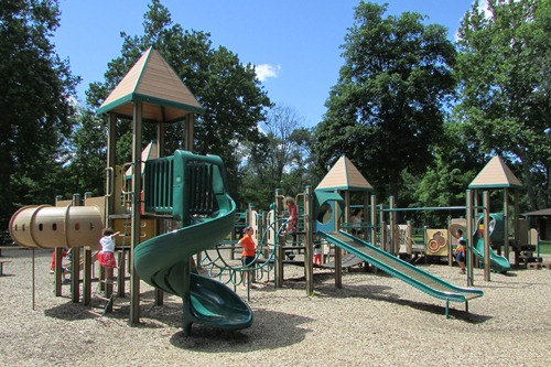 Water Works Park Playground Cuyahoga Falls Ohio