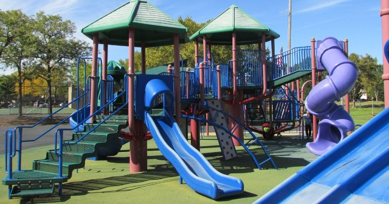 Playground at Croghan Park Fairlawn Ohio