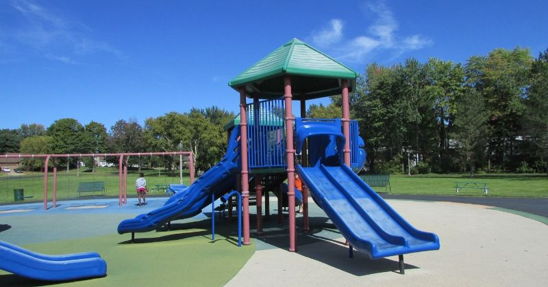 Toddler Playground at Croghan Park Fairlawn Ohio