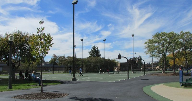 Basketball Courts at Croghan Park Fairlawn Ohio