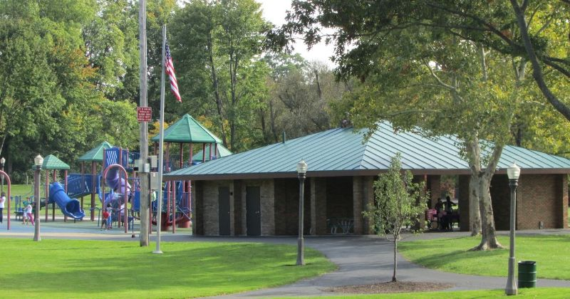 Covered Pavilion at Croghan Park Fairlawn Ohio