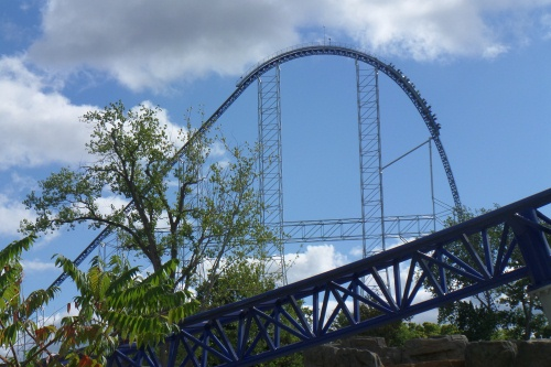 Hill on the Millennium Force at Cedar Point