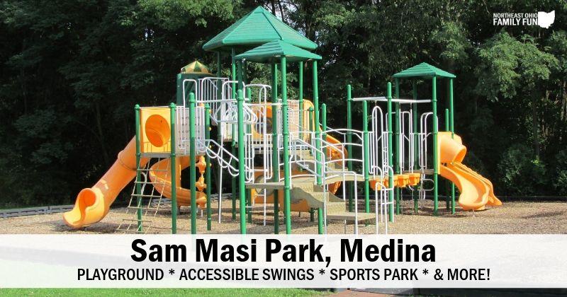 Sam Masi Park in Medina Ohio