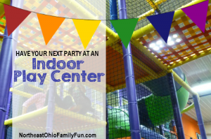 Birthday Party at Indoor Play Centers