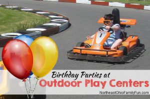 Birthday Party Outdoor Play Centers