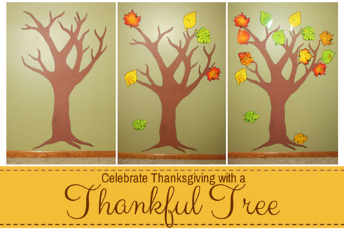 Celebrate Thanksgiving with a Thankful Tree