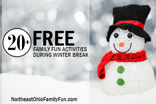 Free Things to Do During Winter Break in Northeast Ohio