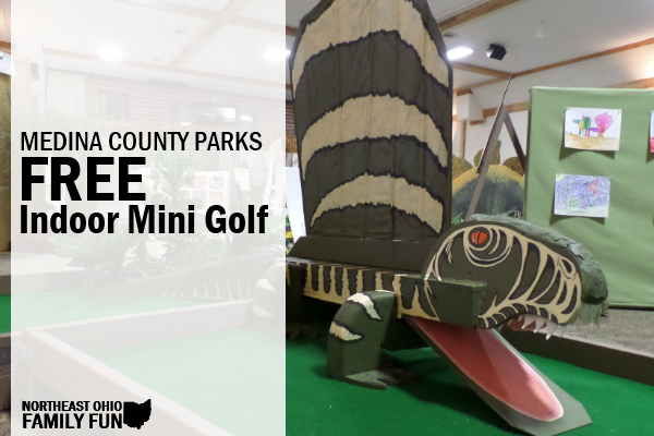FREE Indoor Mini Golf with Medina County Park District
