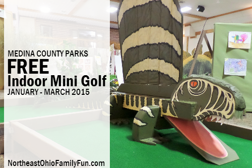 Medina County Parks Indoor Mini Golf Course Ohio
