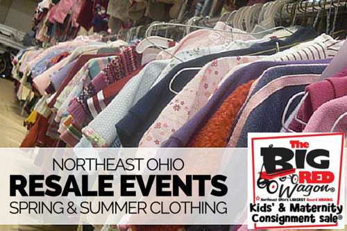 Northeast Ohio Spring Summer Kids Resale Events 2016