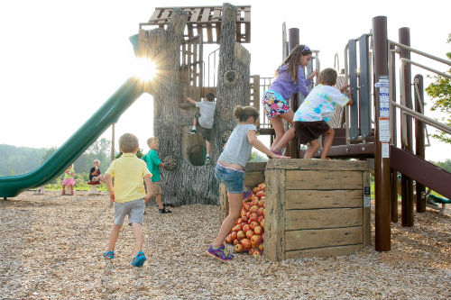 Apple Orchard Themed Playground Chesterland Ohio