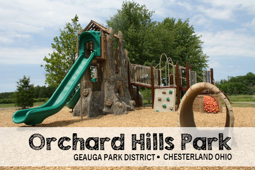 Orchard Hills Park in Chesterland Township