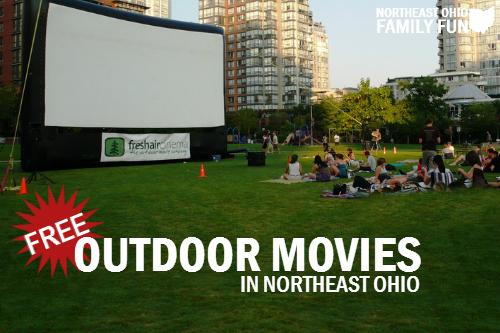 FREE Outdoor Movies Northeast Ohio