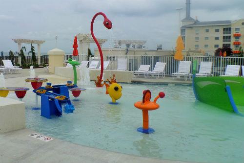 Kids Pool at Hotel Breakers Cedar Point