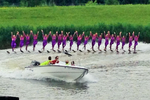 Ballet Line Water Ski Show