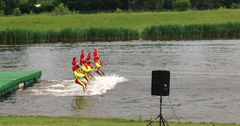 Chippewa Lake Water Ski Show Team
