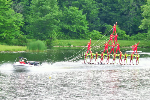 Free Water Ski Shows Emerald Lake Ohio