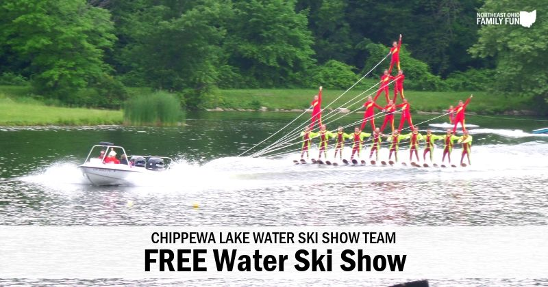 Free Water Ski Shows in Ohio