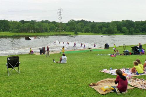 Free Weekly Water Ski Show Ohio