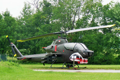 Helicopters at MAPS Air Museum