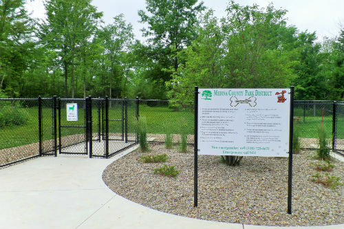 Huge Dog Park Medina County Parks Ohio
