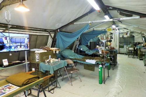 Replica Army Medic Tent