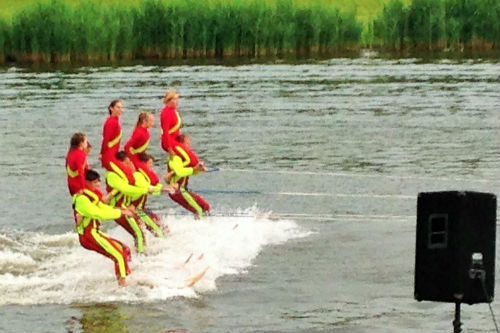 FREE Weekly Water Ski Show Norton Ohio