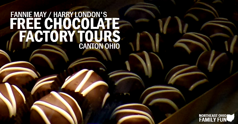 FREE Chocolate Factory Tours Canton Ohio