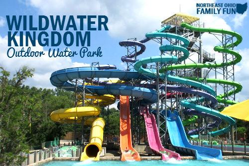 Outdoor Waterpark Northeast Ohio Wildwater Kingdom