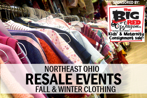 Kids Fall Winter Resale Events